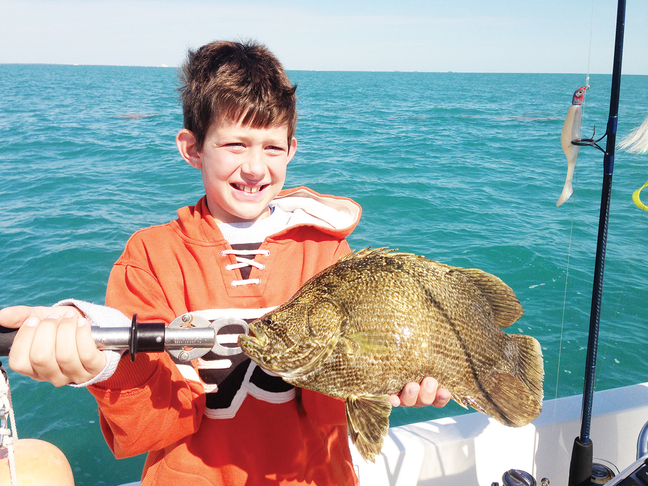 Port canaveral tripletail fishing coastal angler the for Triple tail fish