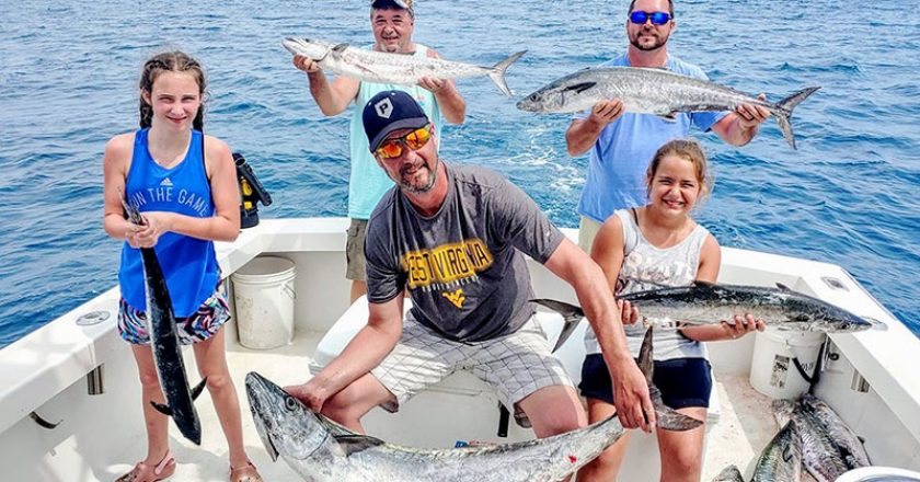 This crew wanted action and they got just that by catching a bunch of kings and more on the Seas Fire with Capt. Tyler.