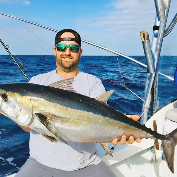 Capt. Joe @ Fired Up Fishing Charters gave Jeremy and family a birthday to remember!