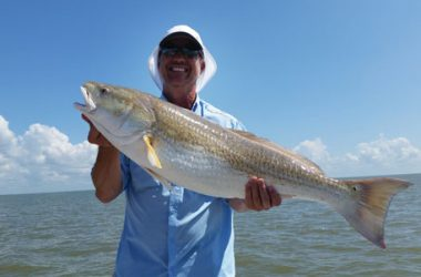 Capt muckleroy trinity bay report coastal angler the for Trinity bay fishing