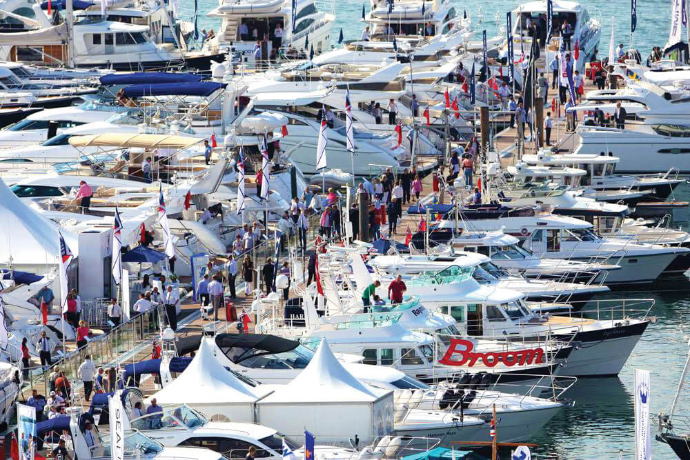 Spring Boat Shows Mix Boats, Seafood, and Live Music ...