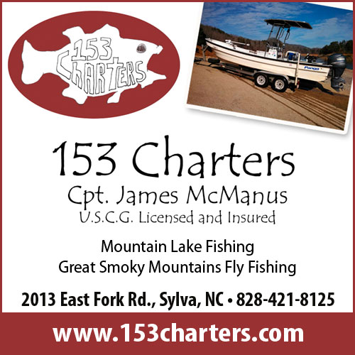 153 Charters fishing guide service