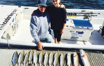 Suwannee River/Cedar Key fishing