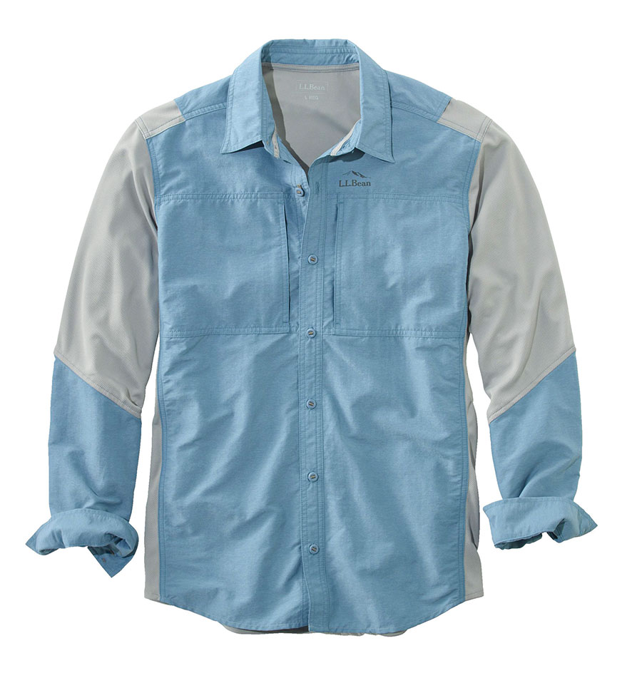 L l bean hybrid fishing shirt coastal angler the for West marine fishing shirts