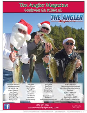 Angler Magazine December cover