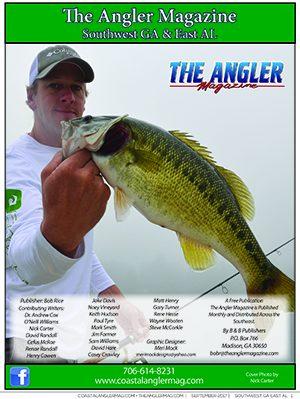 Angler Magazine September cover