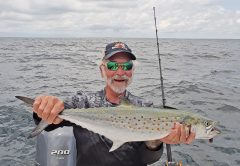 Big Spanish mackerel caught by Skip Doyle off Dog Island.