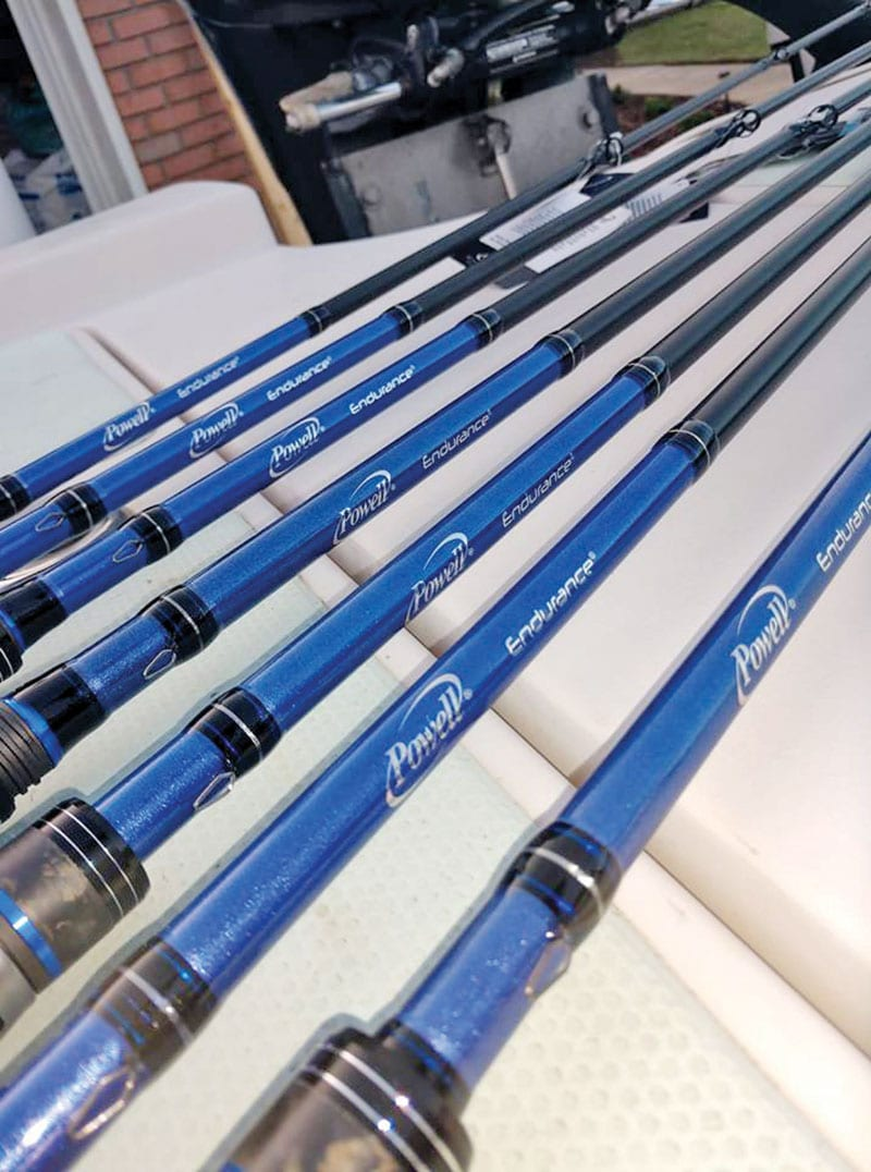 C-note's Powell Rod Line Up.