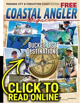 Coastal Angler Magazine - Panama City - November 2017