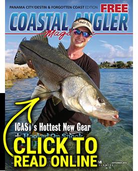 Coastal Angler Magazine - Panama City/Destin/Forgotten Coast September 2019
