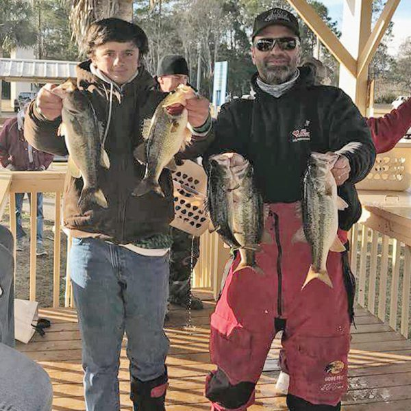 Capt Randy Cnota took Dylan Shingler out to fish his first ever bass tournament from White City, FL.