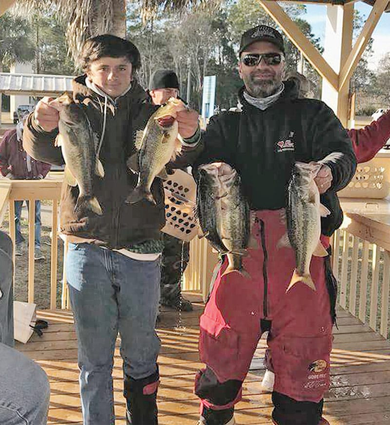 Dylan 39 s first ever bass tournament coastal angler the for Bass fishing tournaments in florida