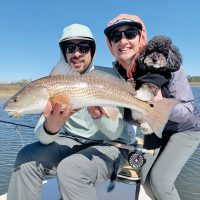 Capt Steve Bachman can get his clients fish on the fly in even the toughest of conditions...Experience matters!