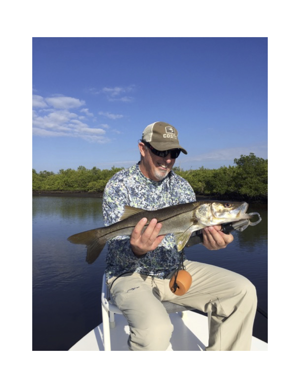 Fishing the gulf by capt mike manis coastal angler for Captain mike fishing