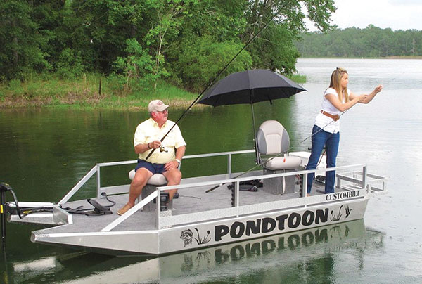 Duck Boats For Sale >> CustomBilt Pondtoons - Boat Review | Coastal Angler & The ...