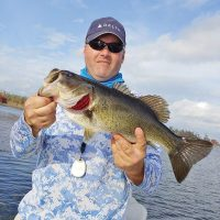 Deerpoint Lake resident Chris Sabo caught this bass on his home lake.