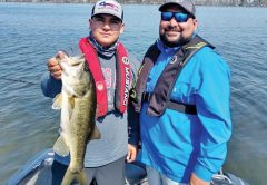 Elijah and Carlos came from TX to visit some Seminole bass with Capt. C-note.