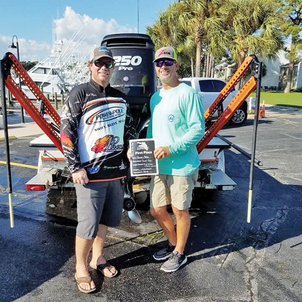 Fred Myers and Justin Leake locked up the 2018 Team of the Year honors in the Emerald Coast Division of the Florida Pro Redfish Series.