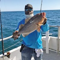 Get Some Steve with his red grouper.