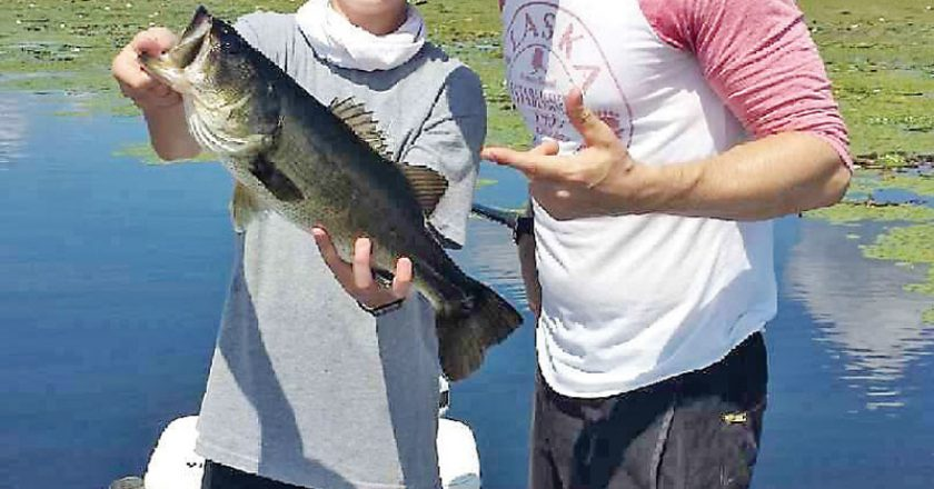 Jeff Caylor took his son Cylus on a guided fishing trip with fishtallahassee.com over Labor Day and put a few nice ones in the boat.