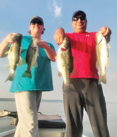 Lake seminole fishing report may 2018 coastal angler for Joe pool lake fishing report