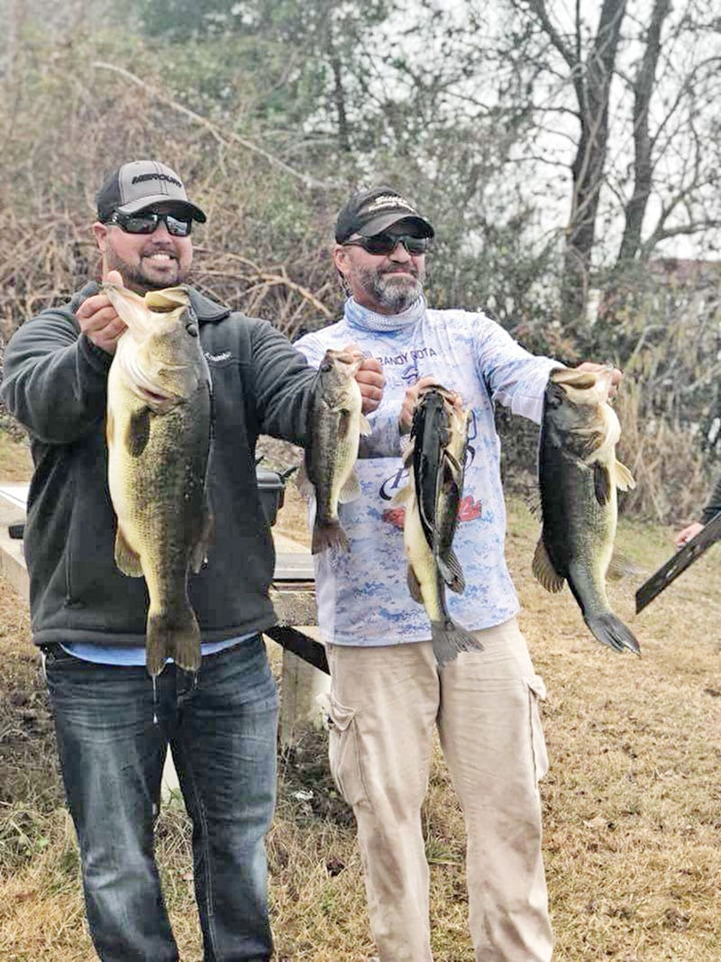 Kyle Pridgen and C-note recently won another Reel Money Team Trail event on Deerpoint with this 19 lb. bag.
