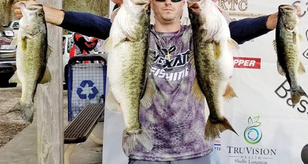 Mike Spampinato with some big Jackson bass!