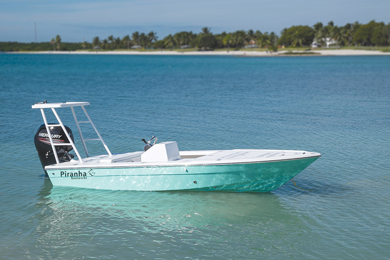 Piranha Boatworks F1700 Flats Bay Boat Review Coastal
