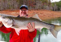Lake Hiwassee fishing report