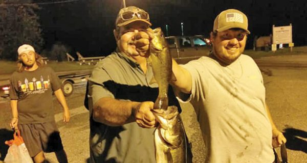 Team Hag's Justin and his dad JR have been cashing checks at every Tuesday Night Shootout they fish.