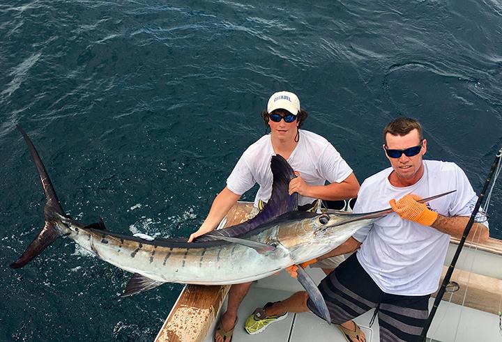 Costa rica fishing reports january february coastal for Costa rica fishing report