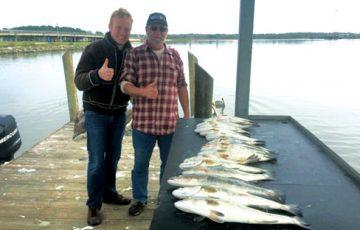 Capt Muckleroy Trinity Bay report