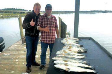 Capt talasek matagorda fishing report coastal angler for Trinity bay fishing
