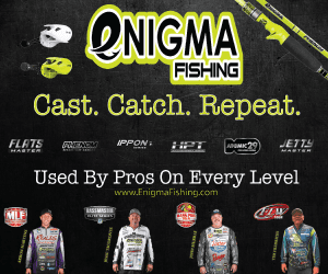 Enigma Fishing Advertisement