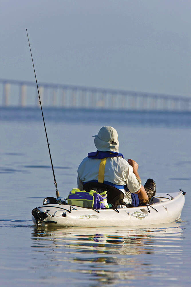 fish fishing fishing the sunshine skyway bridge