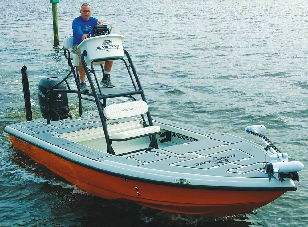 action craft 2050 gulf coast crossover gcx coastal