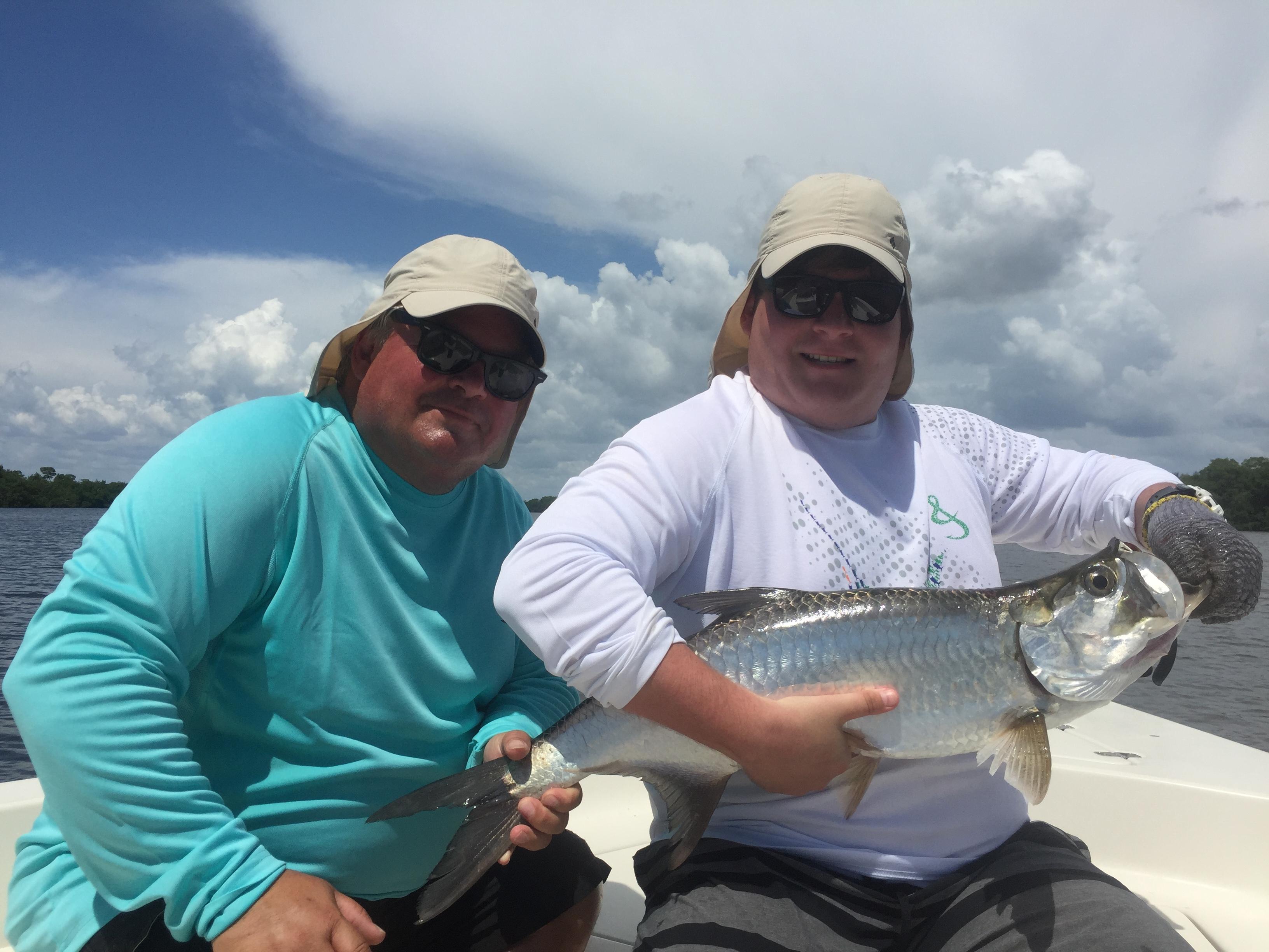 Tarpon time in southwest florida by capt terry fisher coastal another effective presentation is to find a school of rolling tarpon and free line threadfins to them this may be done both offshore and inshore nvjuhfo Images