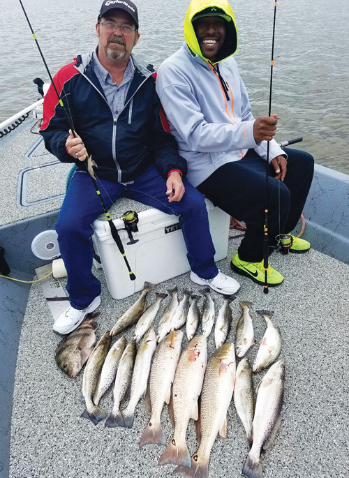 Galveston bay report by capt mike meza coastal angler for Galveston bay fishing report