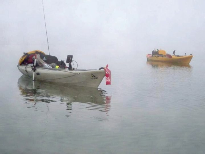 Wade fishing from a kayak coastal angler the angler for Brian s fishing supply