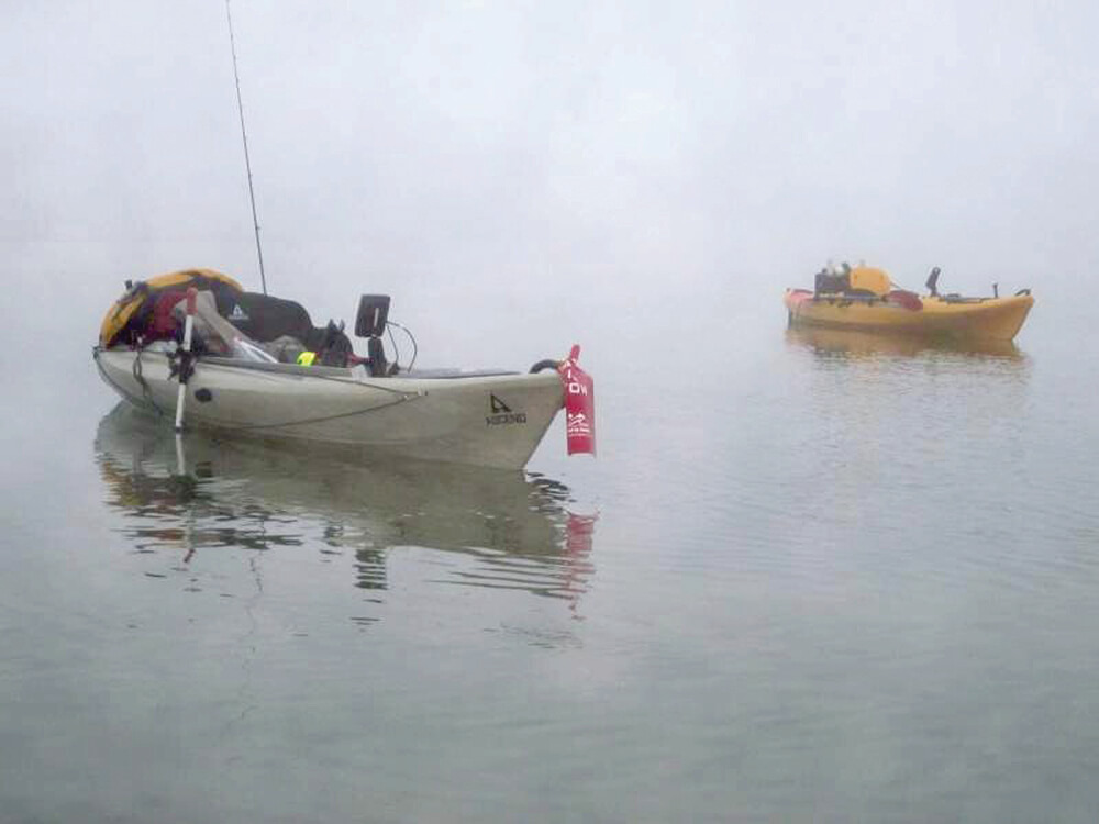 Wade fishing from a kayak coastal angler the angler for Wade fishing gear