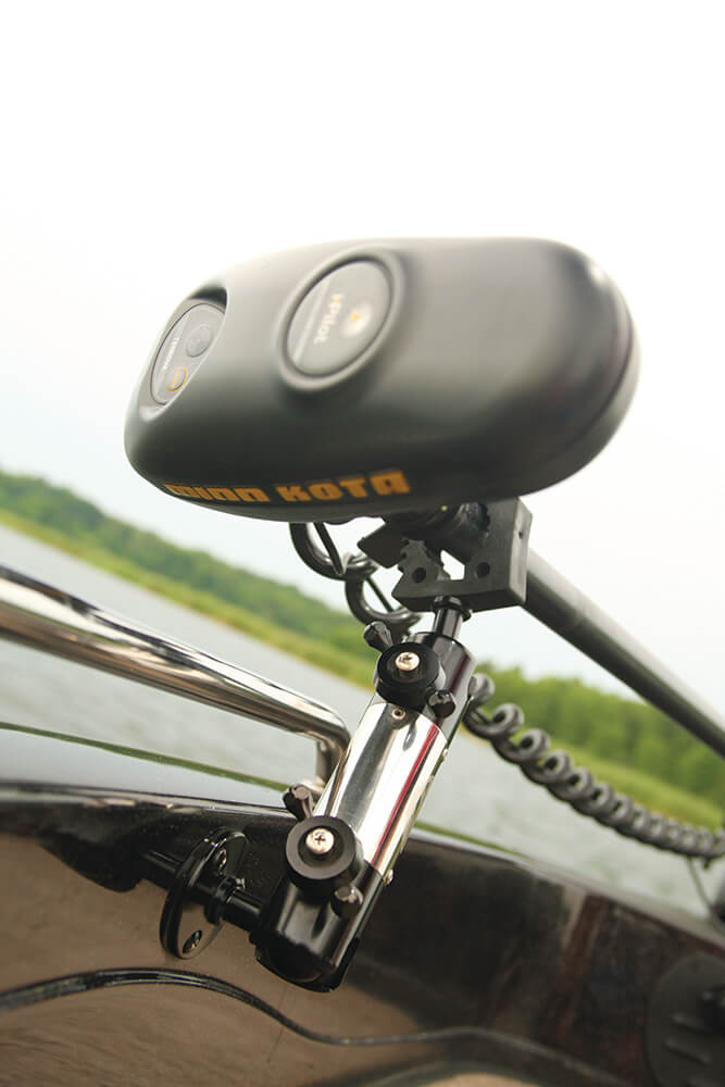 Angler s pal electronics mounts and trolling motor for Electric trolling motor accessories