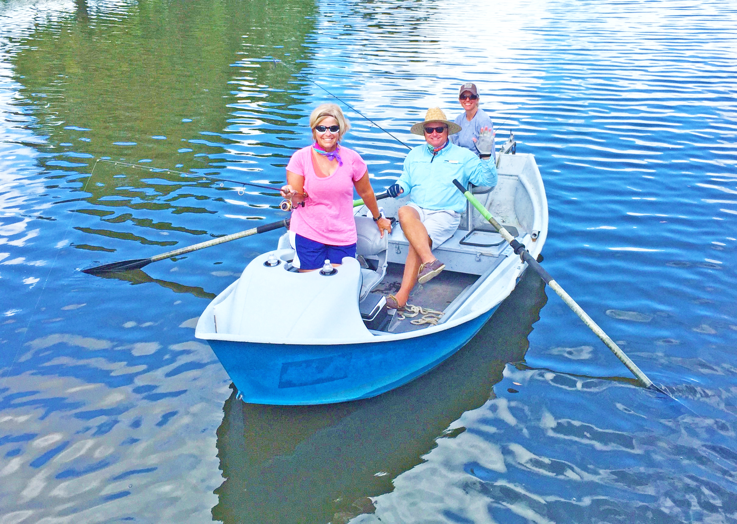 Paddle craft fishing guides closer to the fish coastal for Indian river inlet fishing tips