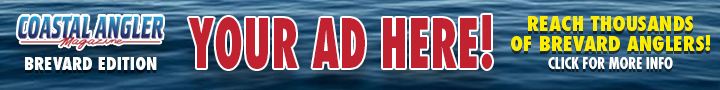 Advertise on CAM Brevard and reach thousands of Brevard Anglers