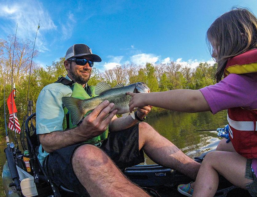 Take the kids kayak fishing coastal angler the angler for Lynnhaven inlet fishing report