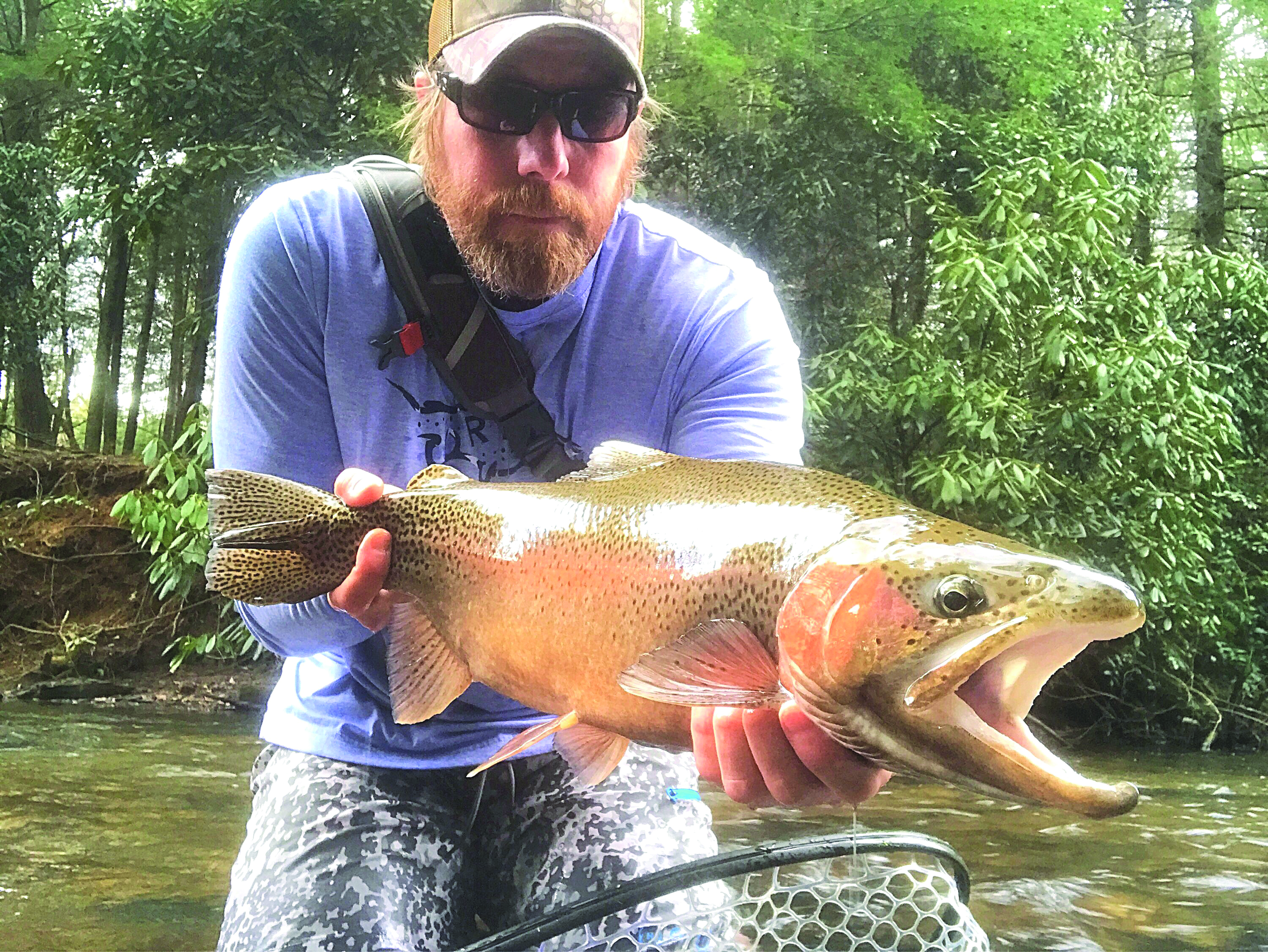 A second career for a navy vet coastal angler the for Blackhawk fly fishing