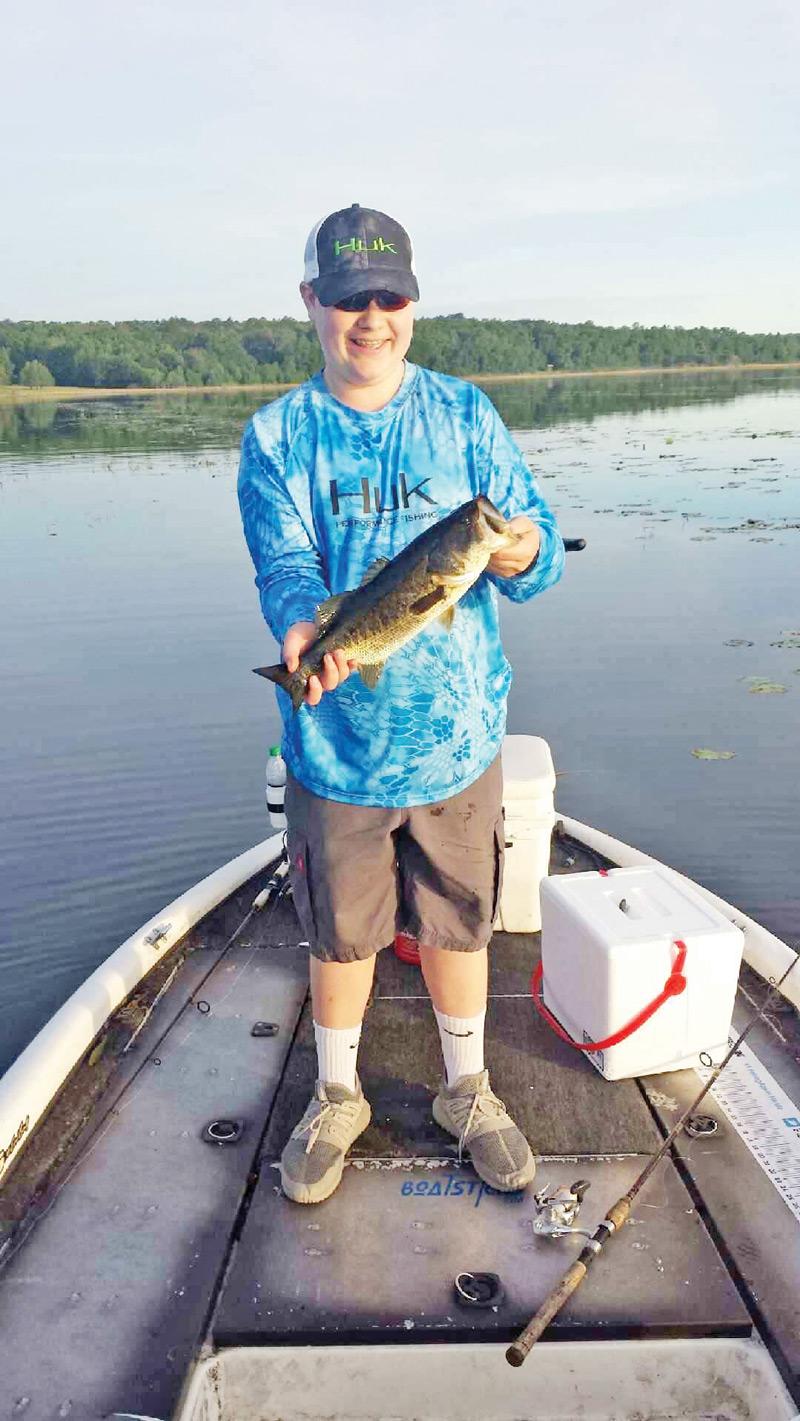 Lake jackson fishing forecast june 2017 coastal angler for Jackson lake fishing