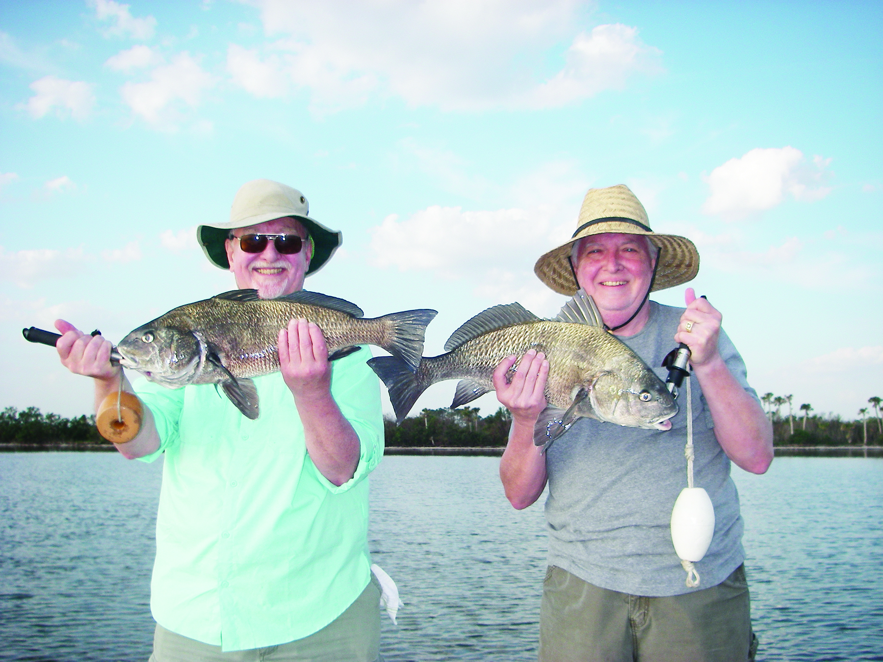 N indian river lagoon coastal angler the angler magazine for Murphy s hook house fishing report