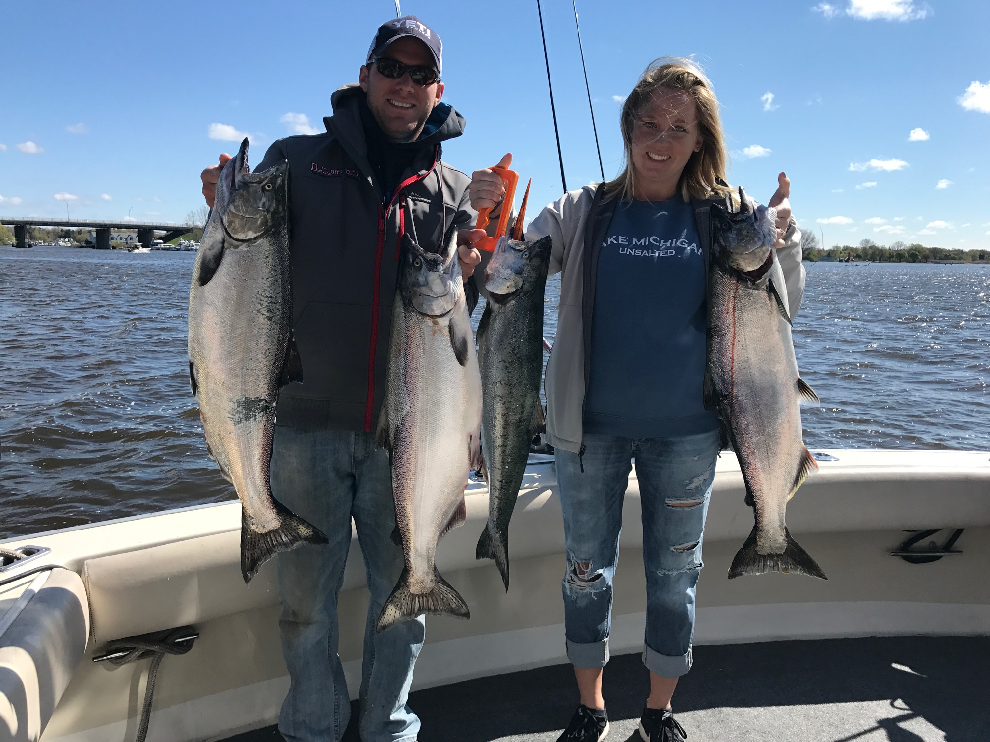 Grand haven fishing report june 2017 coastal angler for Grand haven fishing report