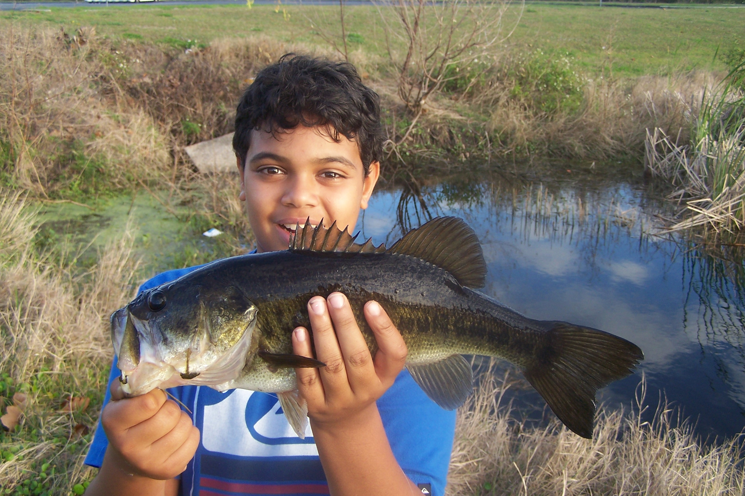 Alex morin photo of a big bass caught in palm bay for Murphy s hook house fishing report