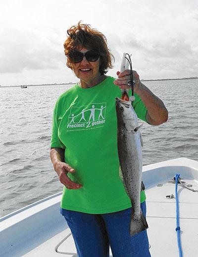 Galveston bay fishing july report coastal angler the for Galveston fishing report